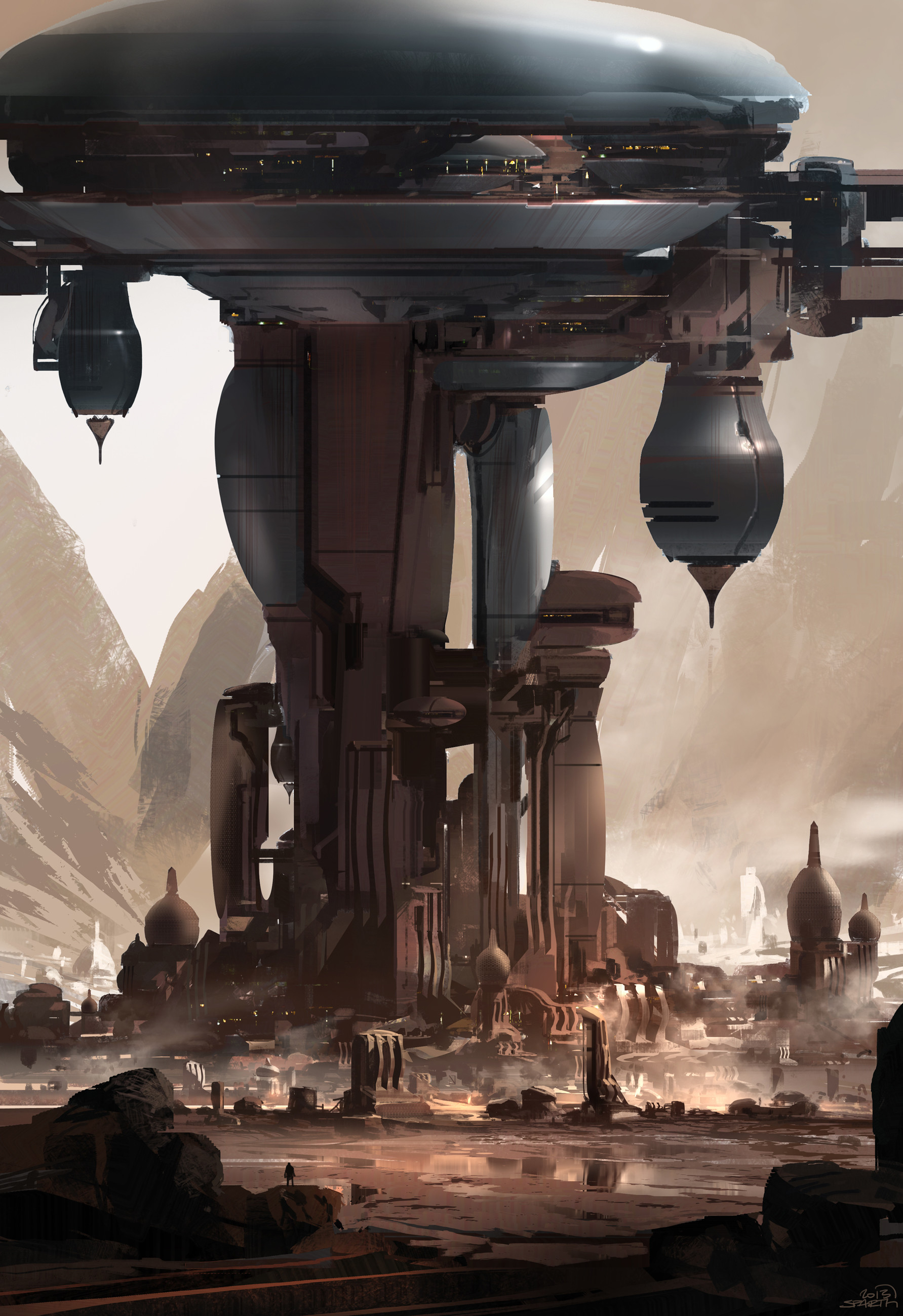 Sparth: Halo 5 Concept Art By Sparth