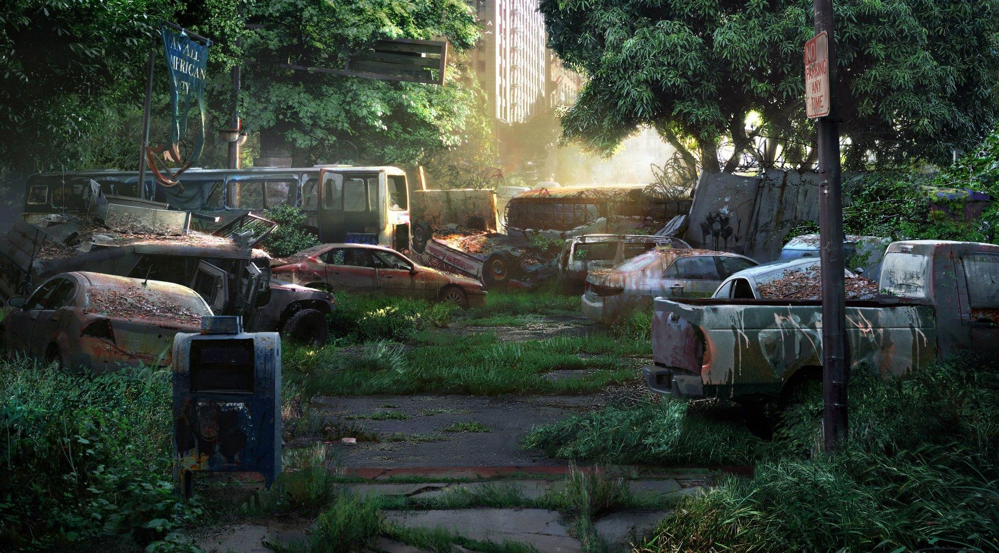 The Last Of Us Concept Art P1 54 Escape The Level