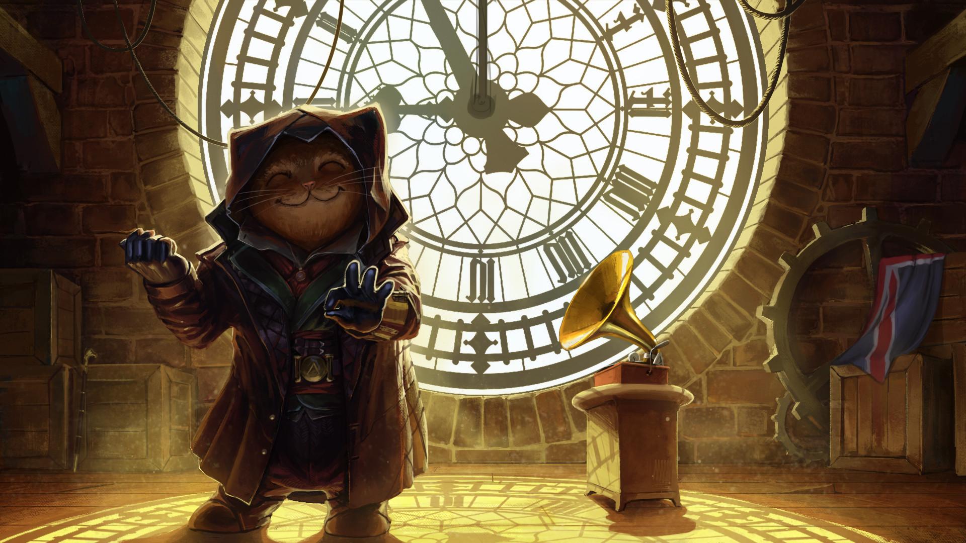 Dmitry Druzhkov - Assassins Creed Cat
