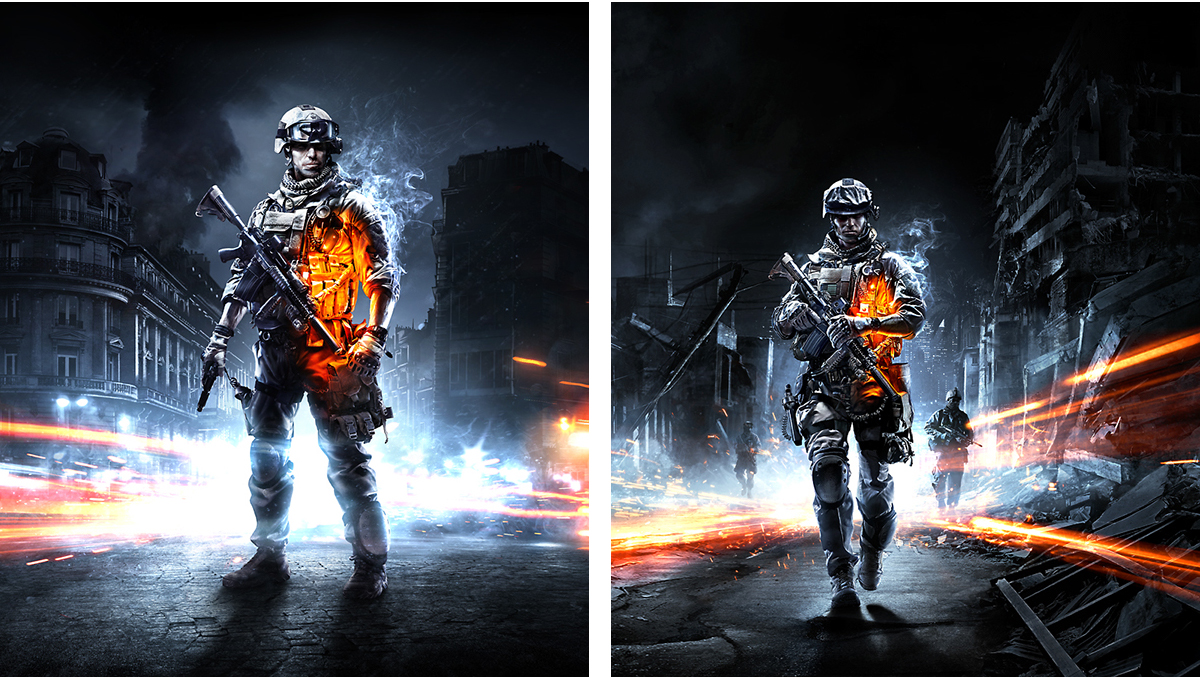 Robert Sammelin - Battlefield 3 Key Art