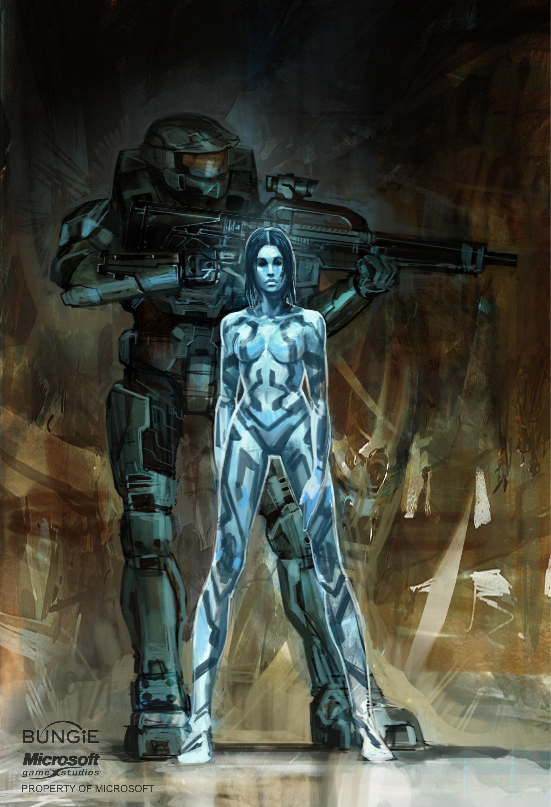 Isaac Hannaford - Halo Concept Art