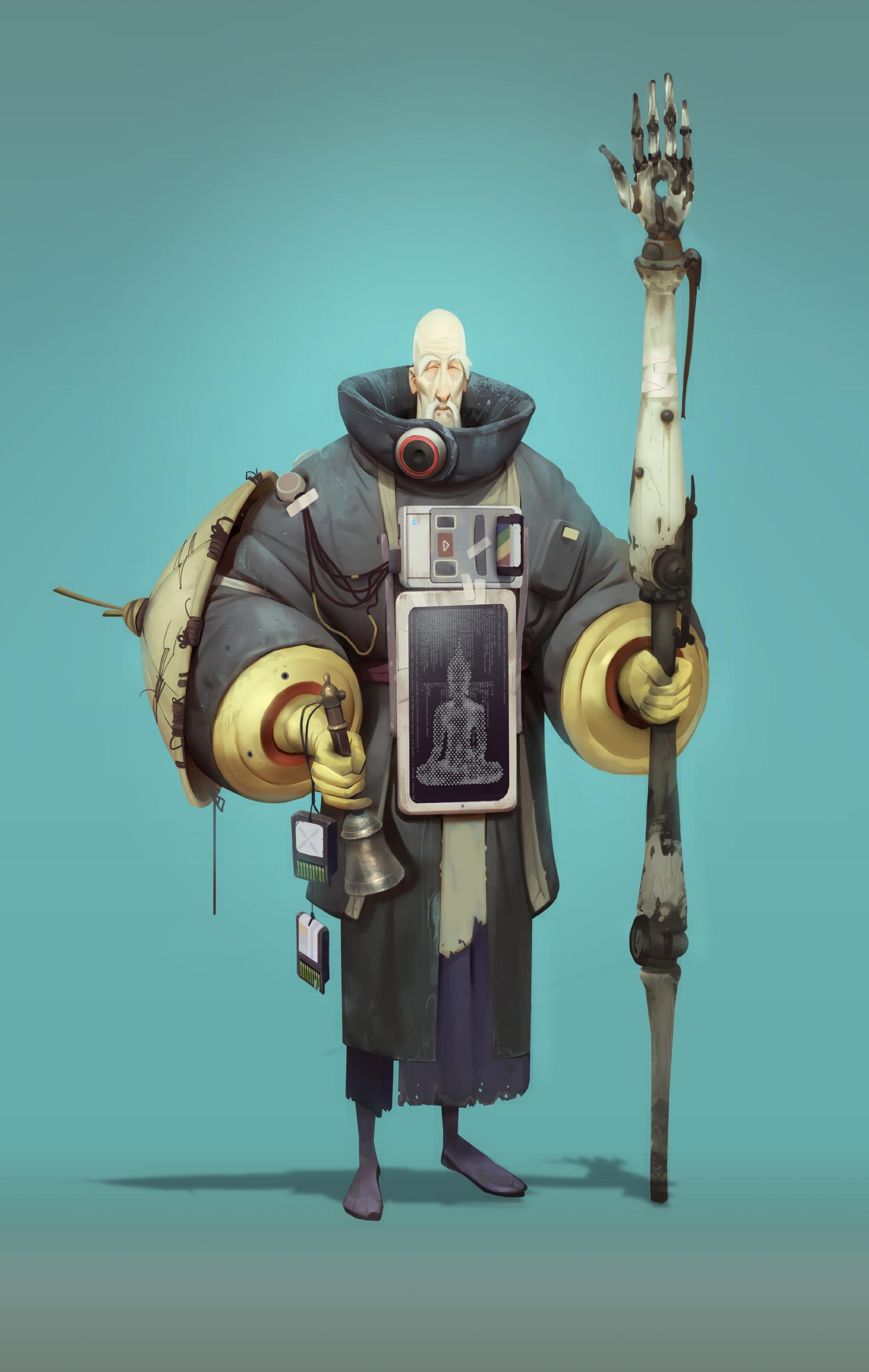 Aleksandr Concept Art