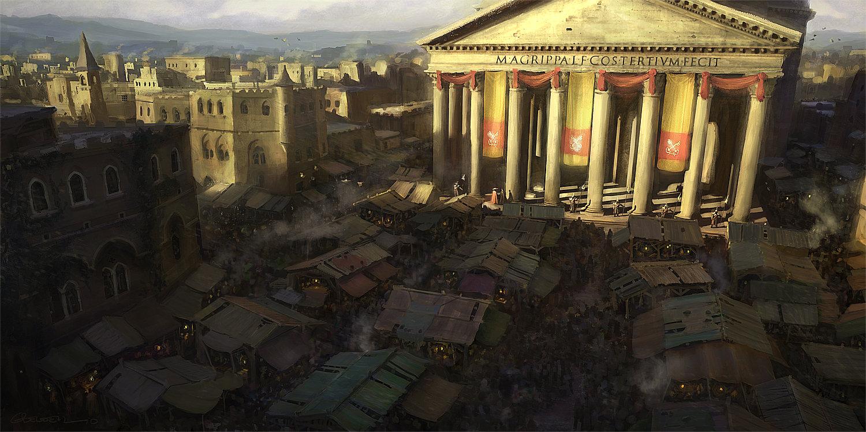Gilles Beloeil - Assassin's Creed Concept Art