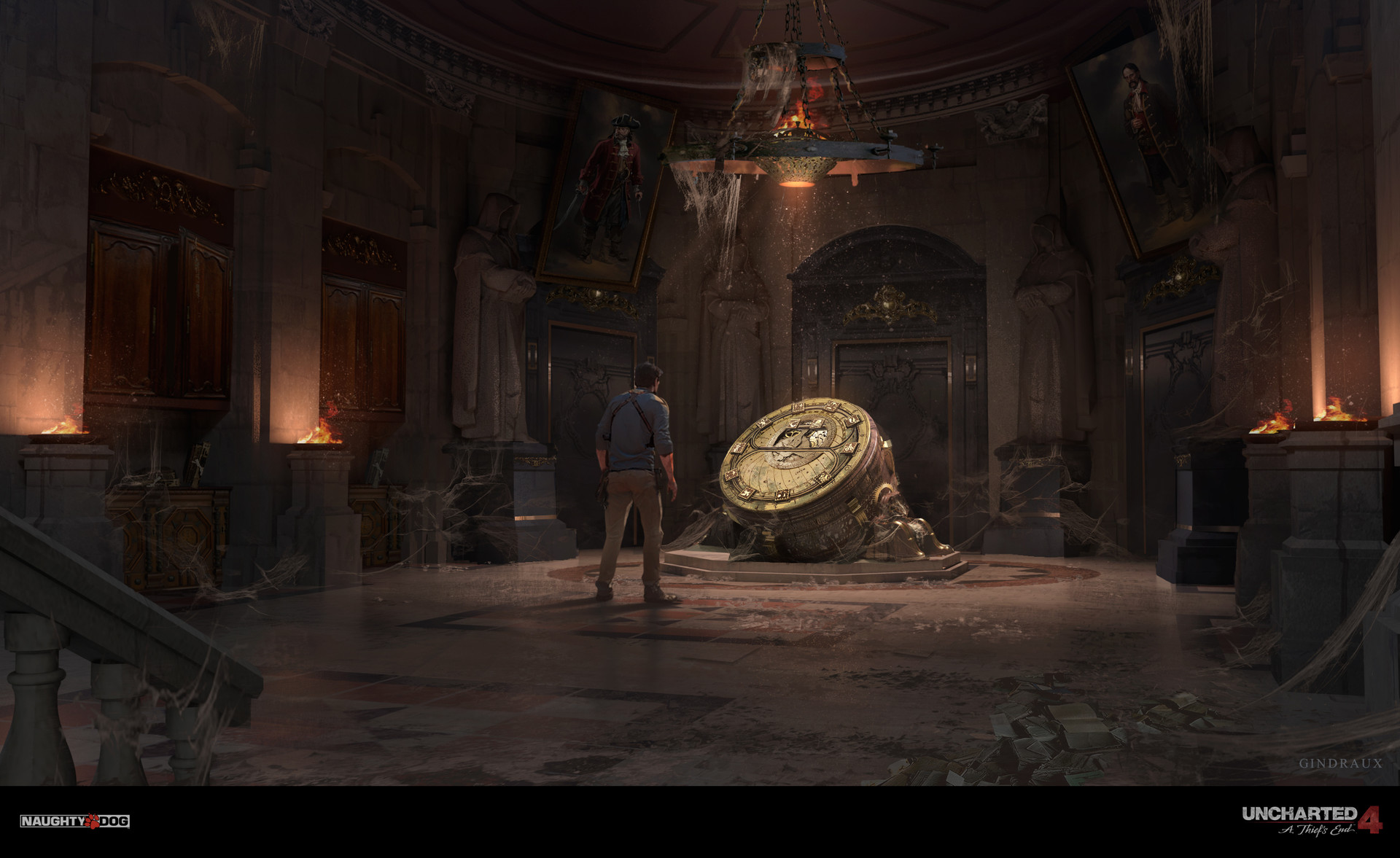 Uncharted 4 Concept Art - Nick Gindraux