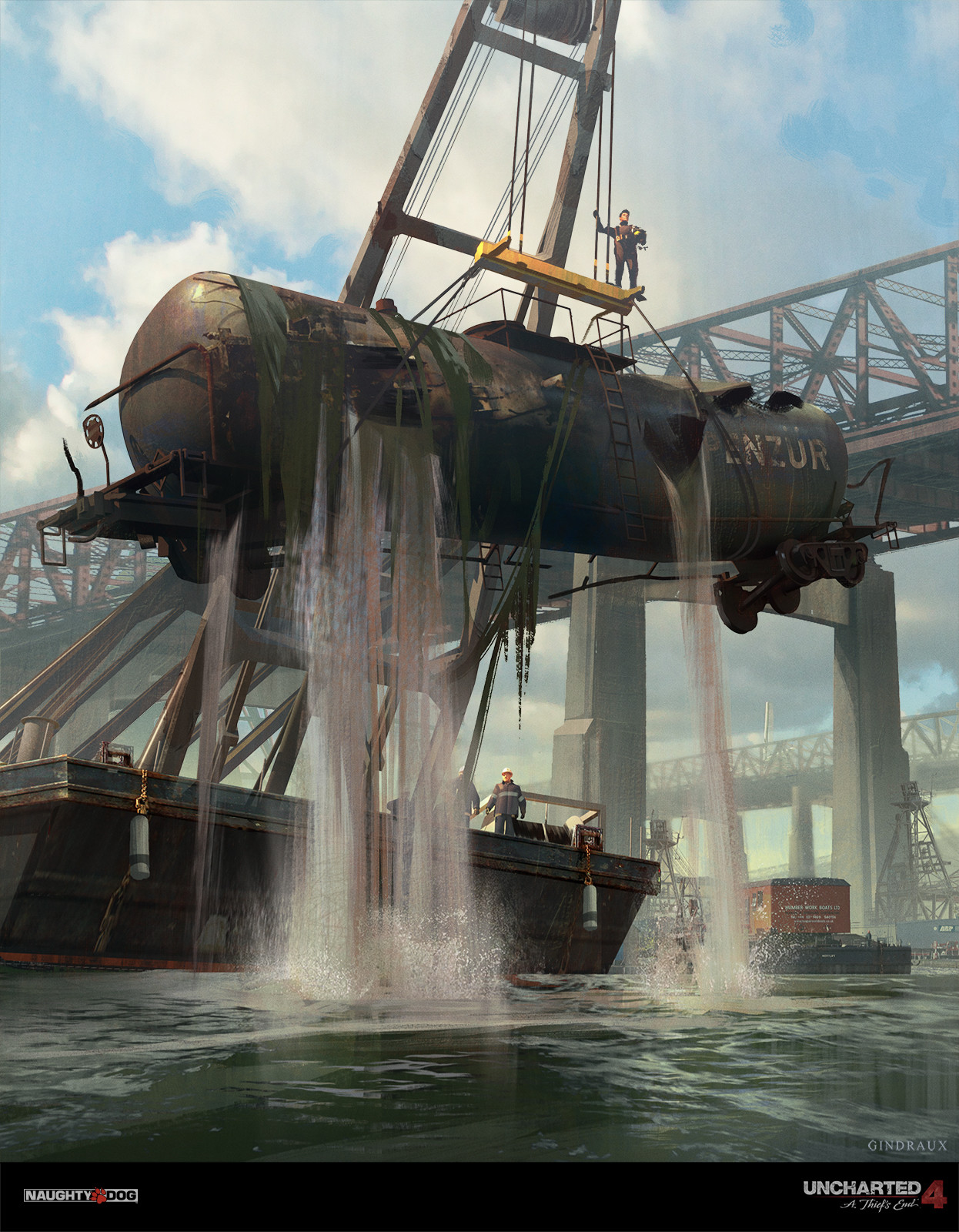 Uncharted Concept Art