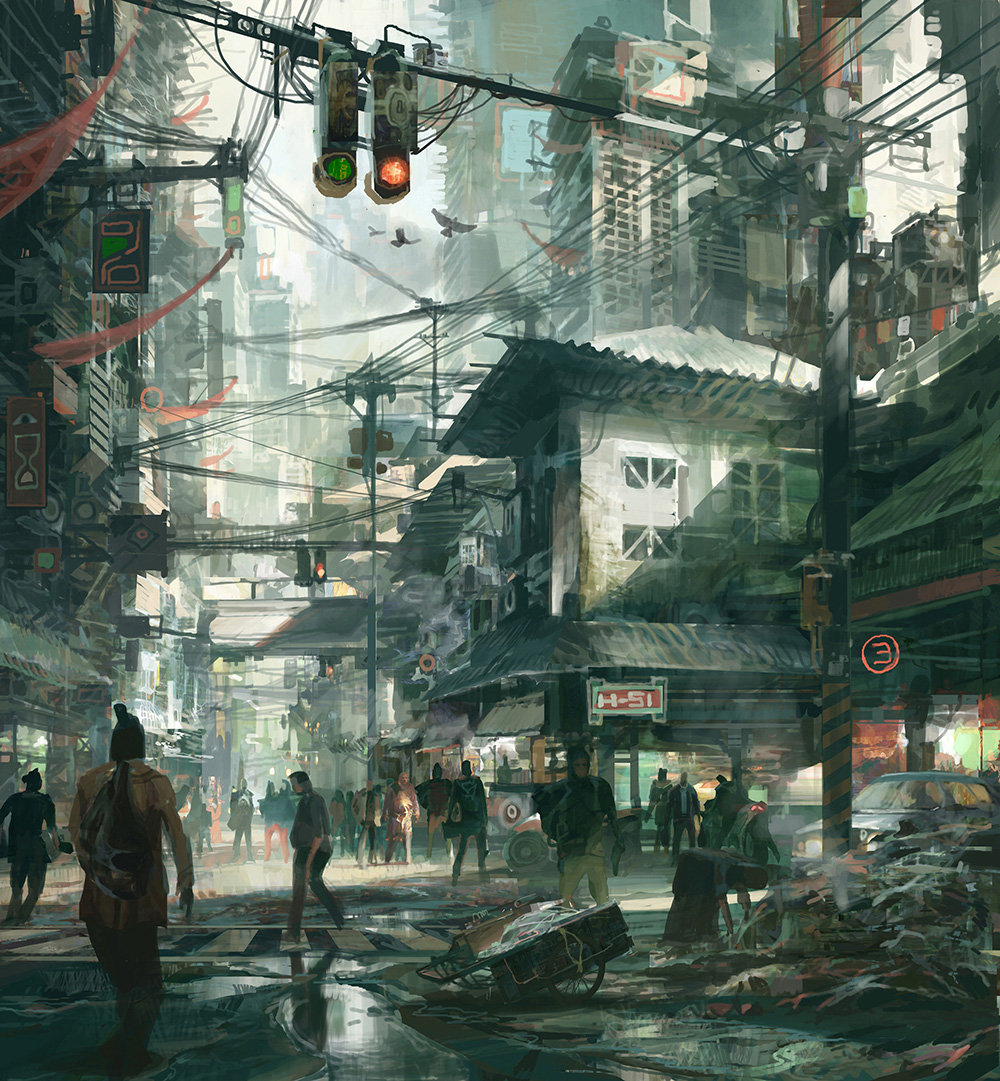 Theo Prins Concept Art