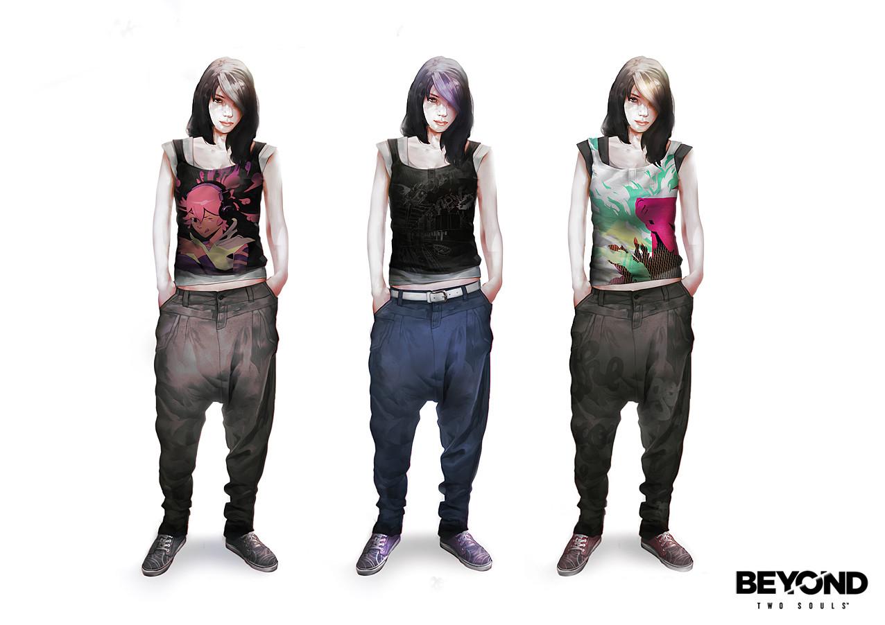 Beyond Two Souls Concept Art
