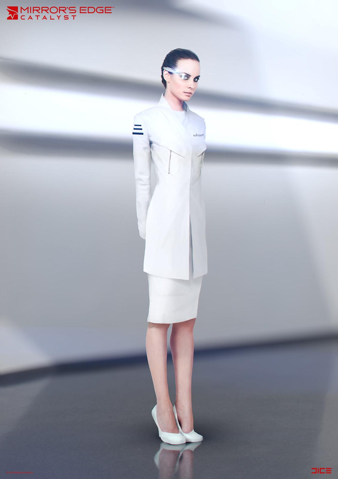 Mirror S Edge Fashion