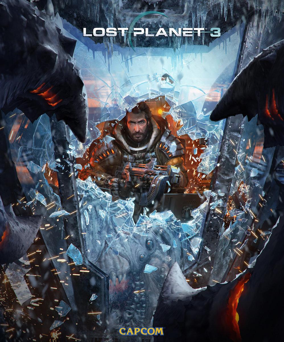 Lost Planet Concept Art by Marek Okon