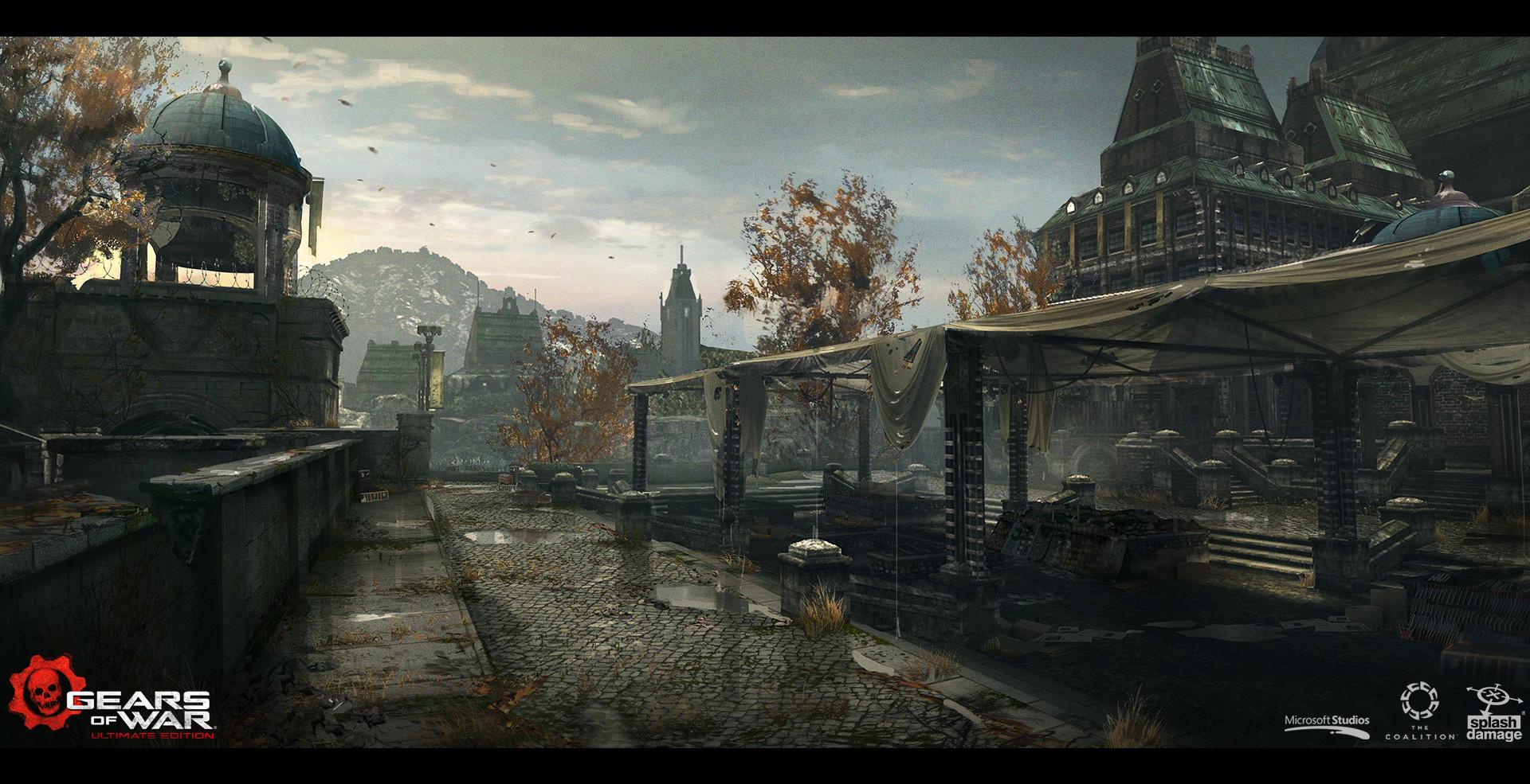Gears of War - Concept Art - Adam Baines