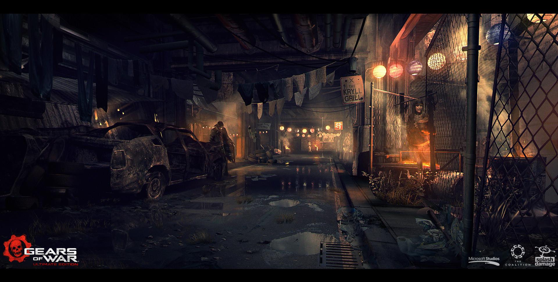 Gears of War Concept Art