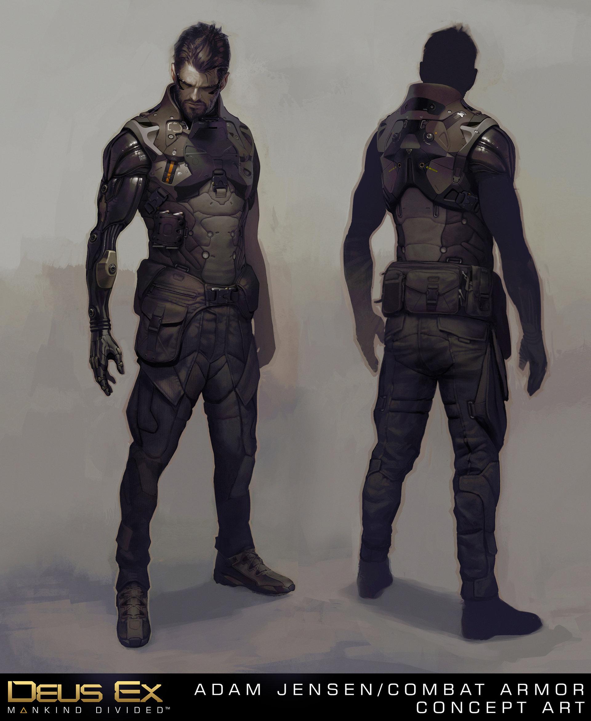 Deus Ex: Mankind Divided Concept Art