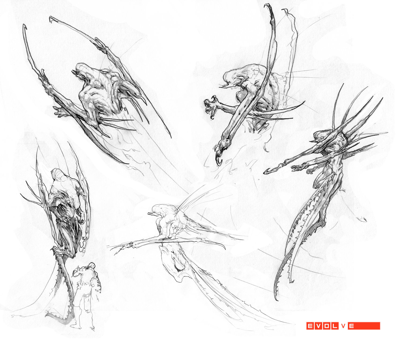 Stephen Oakley Concept Art