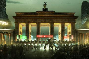 Cities in 2029 - Deus Ex Concept Art