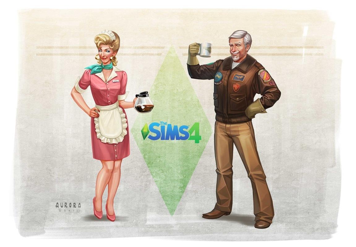 Sims Concept Art