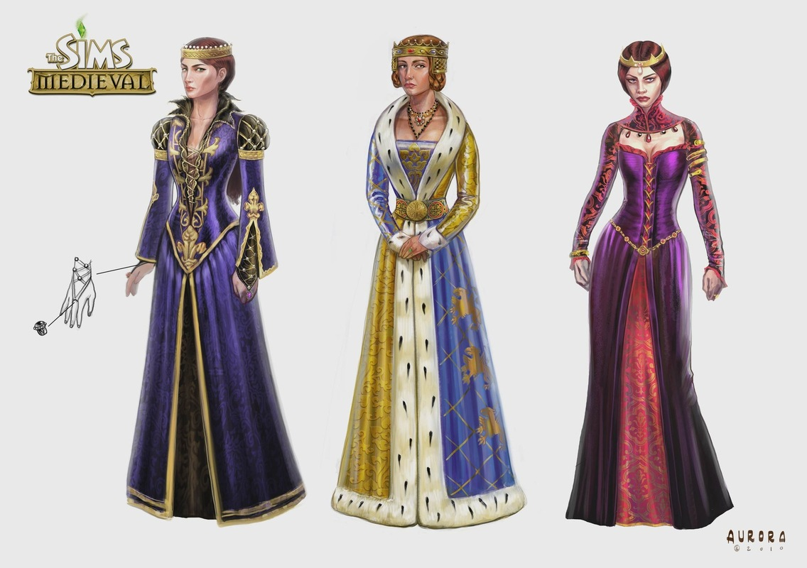 The Sims Medieval Concept Art