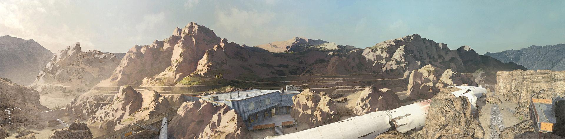Kevin Baik - Call of Duty Concept Art