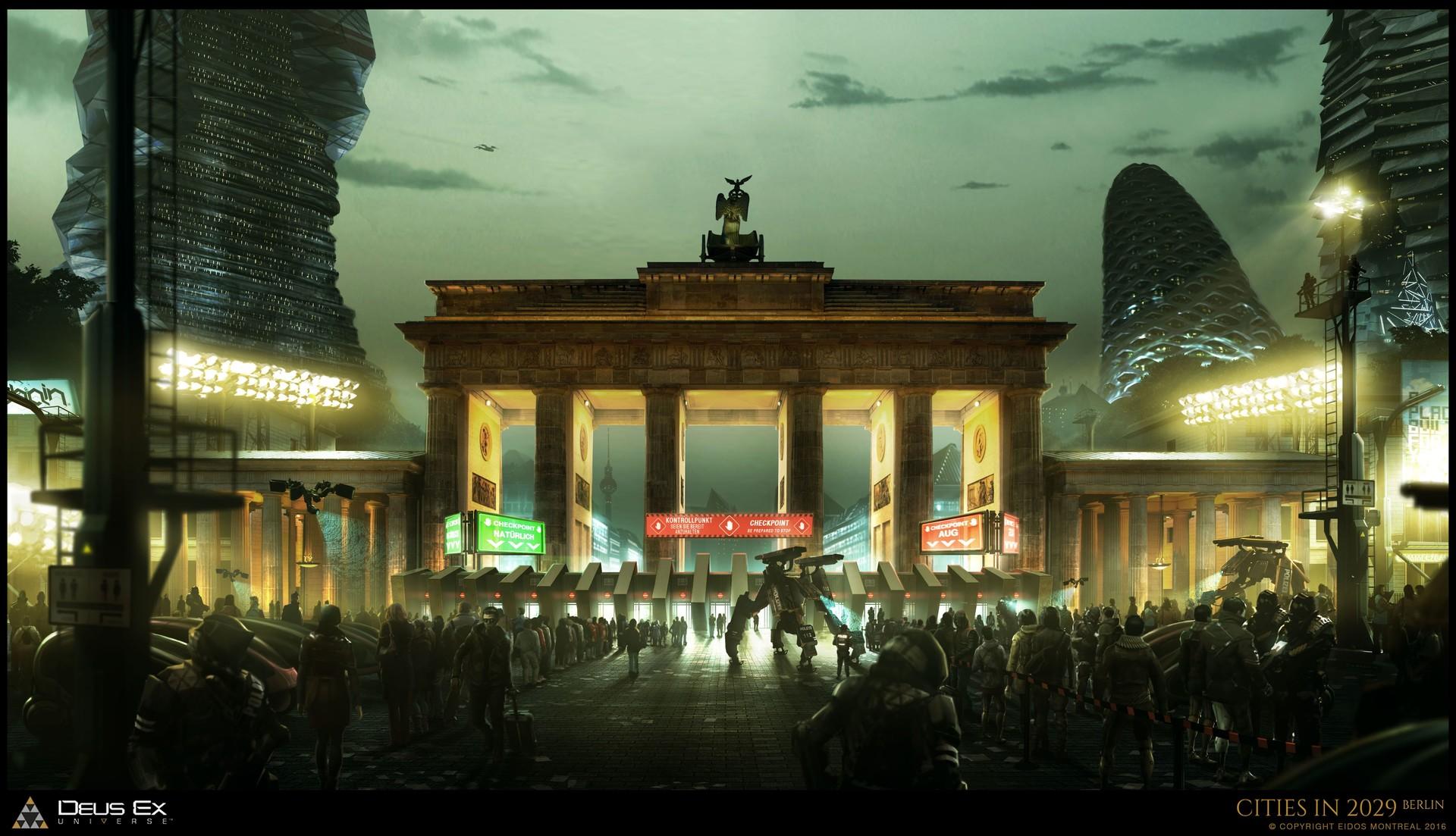 Martin Sabran - Deus Ex Mankind Divided Concept Art