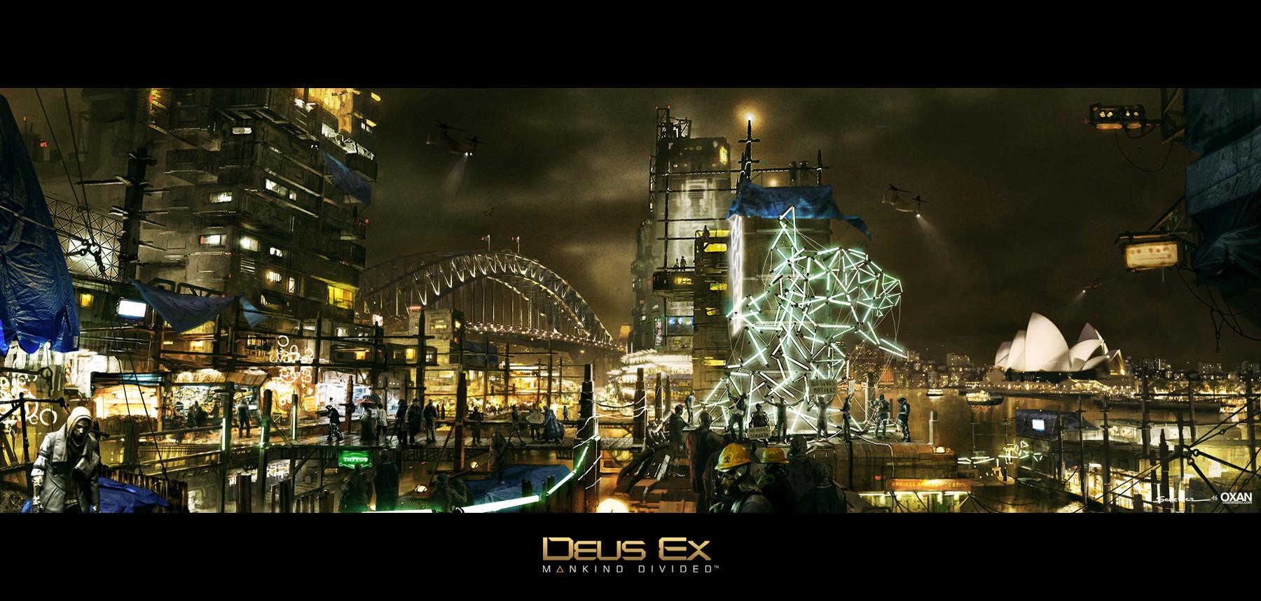 YOHANN SCHEPACZ - Deus Ex Mankind Divided Concept Art