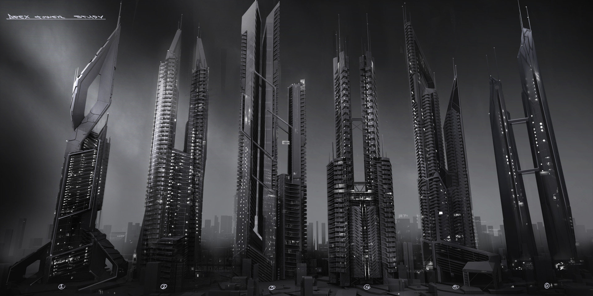 Deus Ex Concept Art - Mathieu Latour-Duhaime