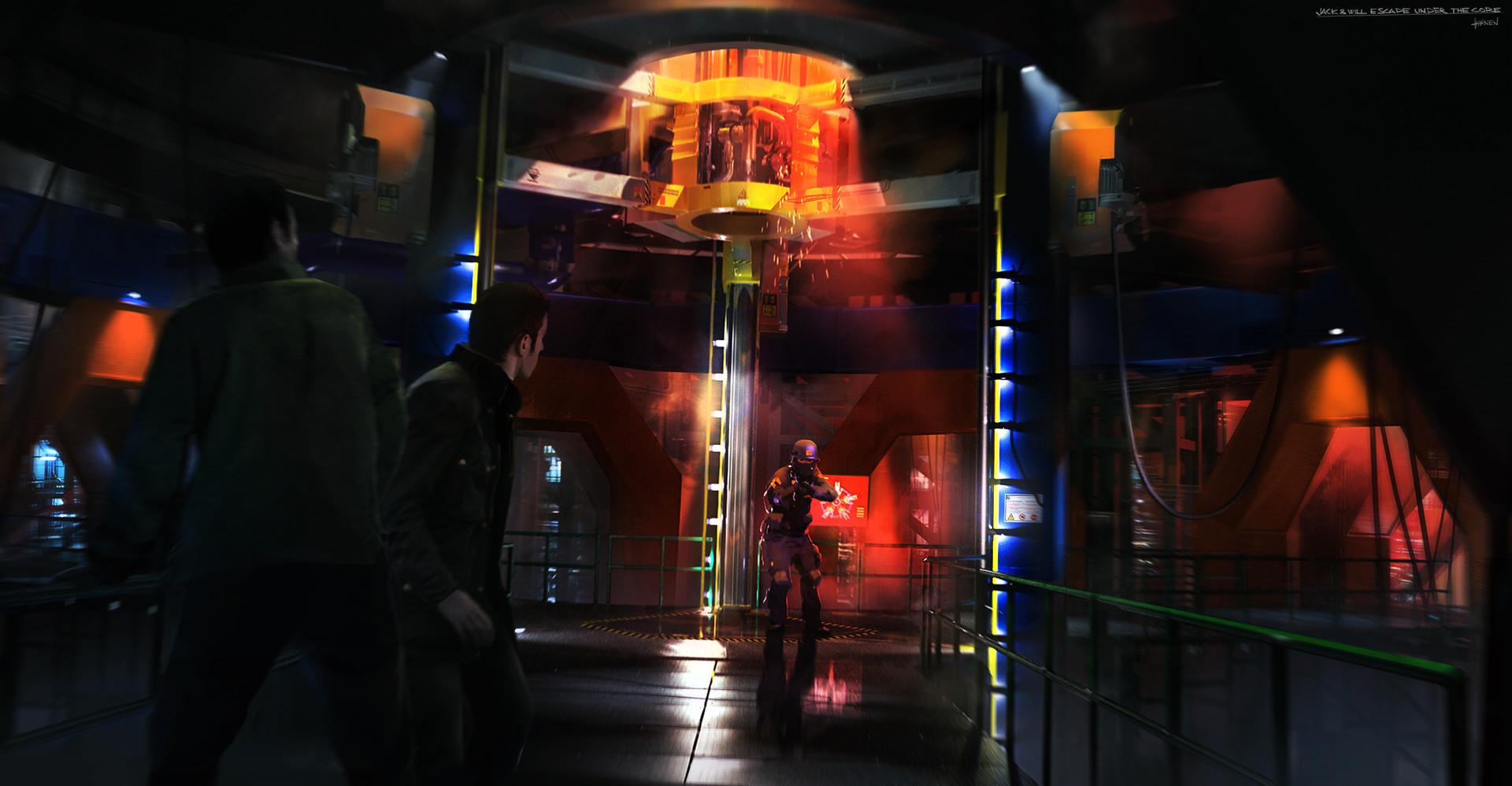 Ville Assinen - Under the Core, Art of Quantum Break