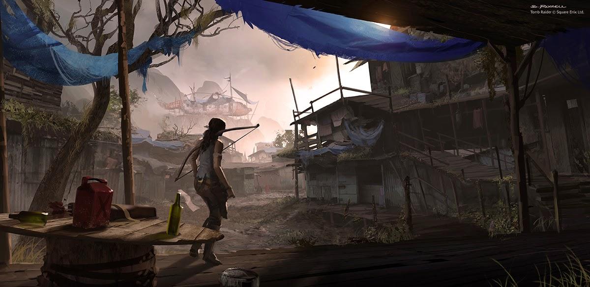 Tomb Raider Artwork