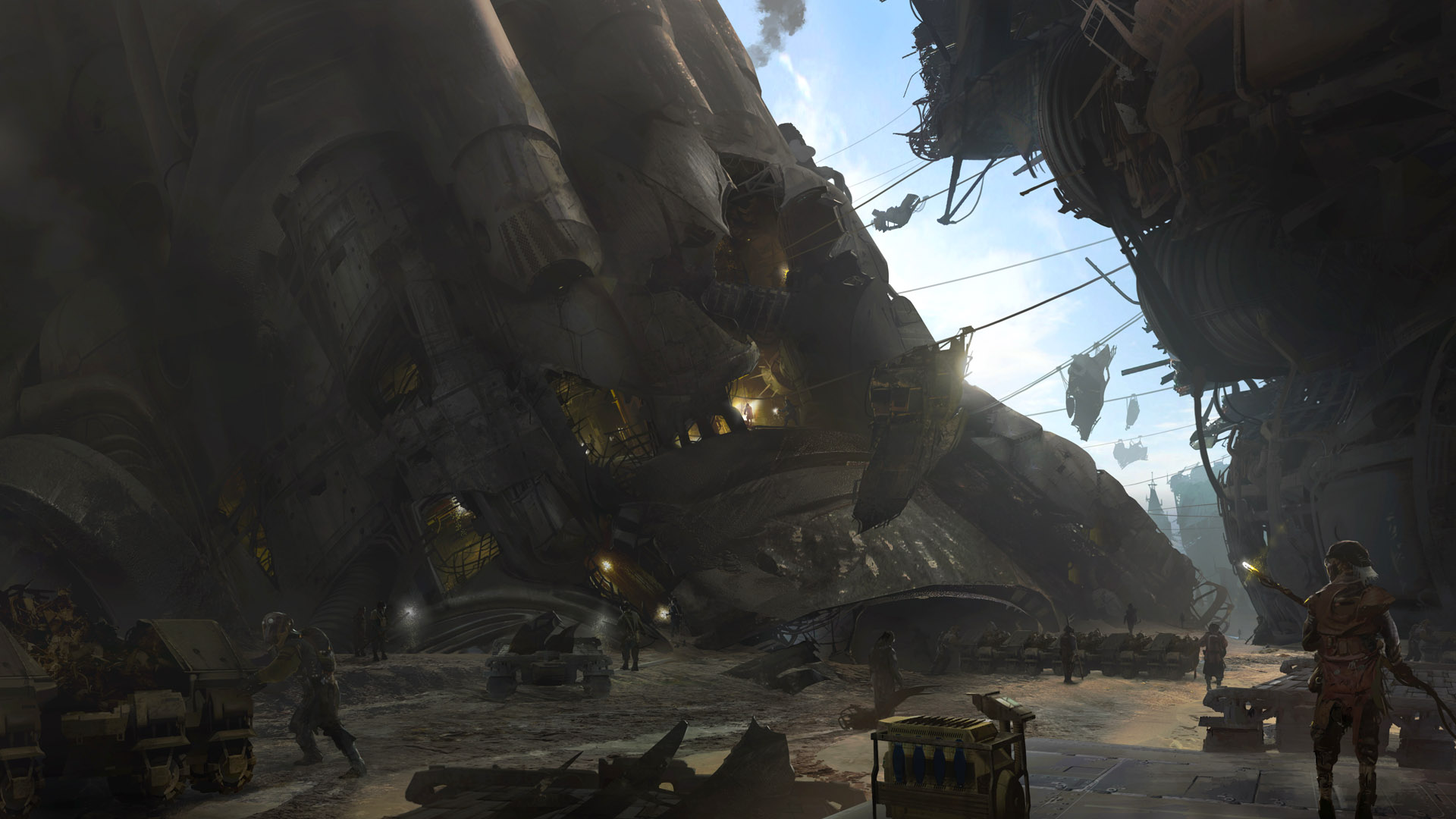 Titanfall Artwork by Bruno Werneck