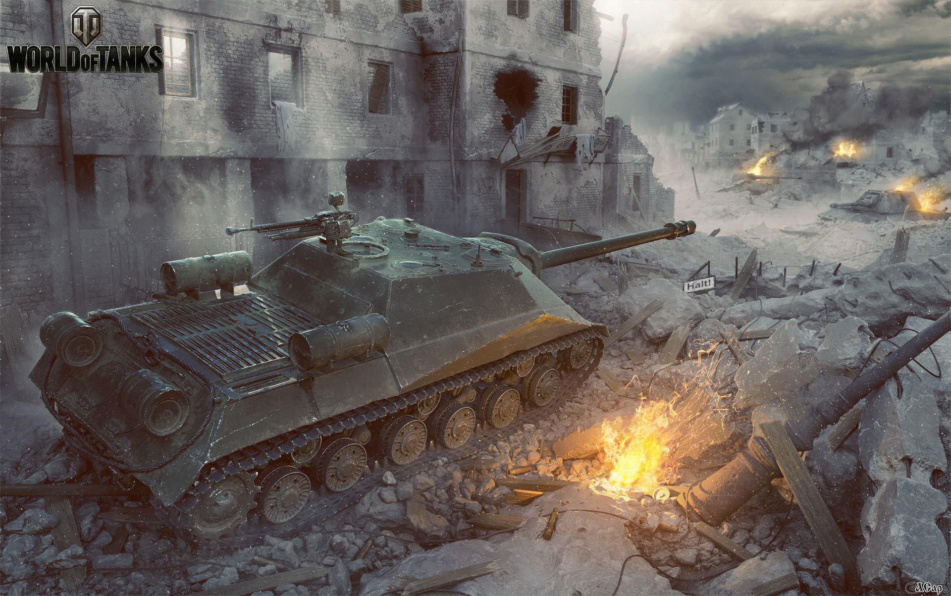 World of Tanks Art by Andrey Sarafanov