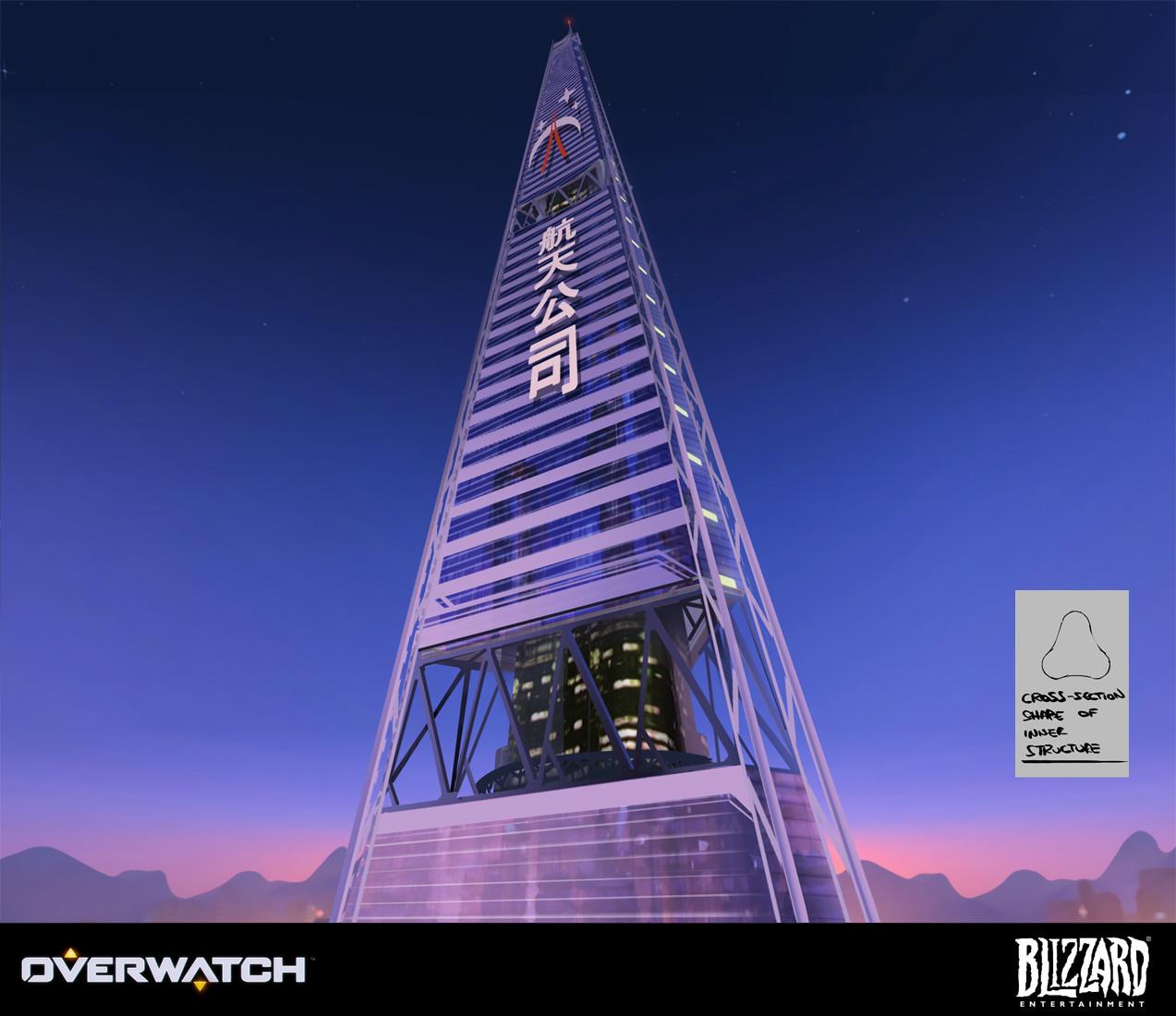 Overwatch Artwork by Nick Carver