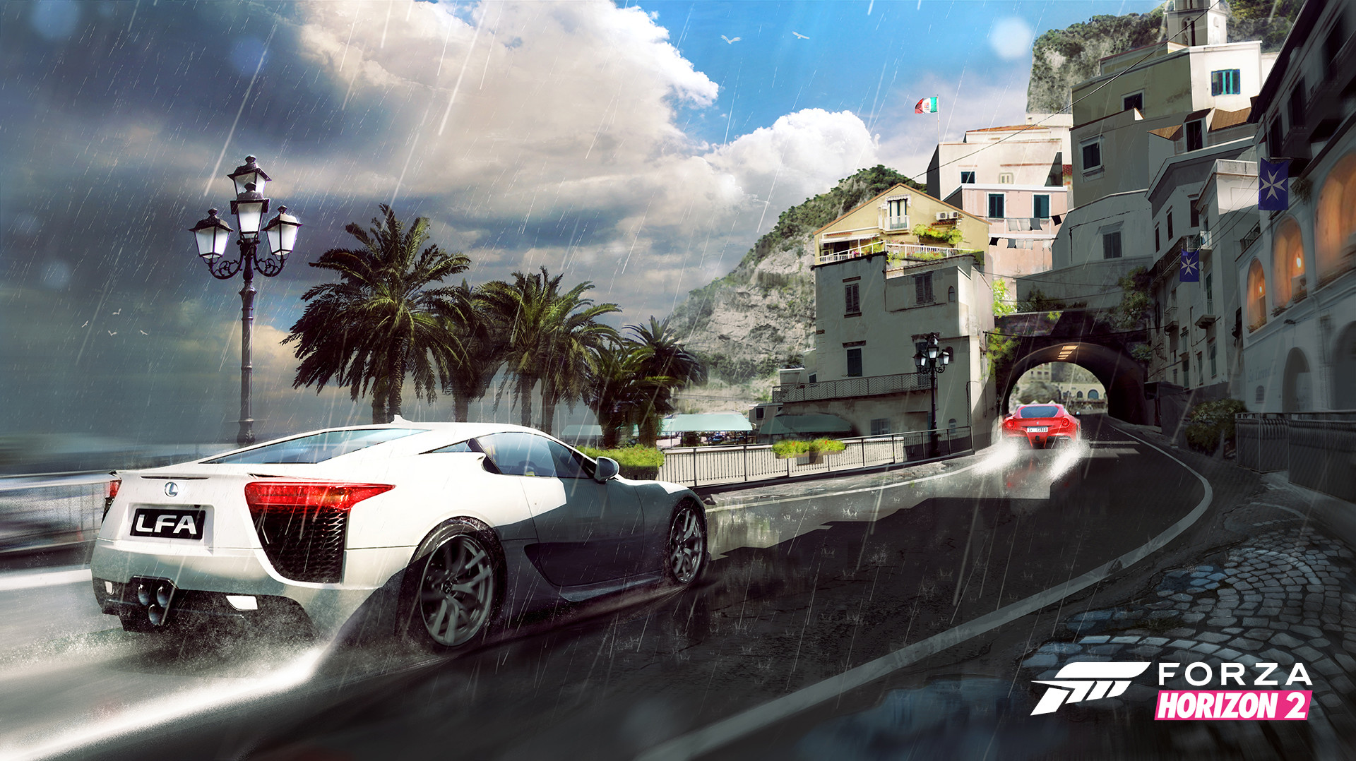 Forza Horizon 2 Concept Art by Michael Richards