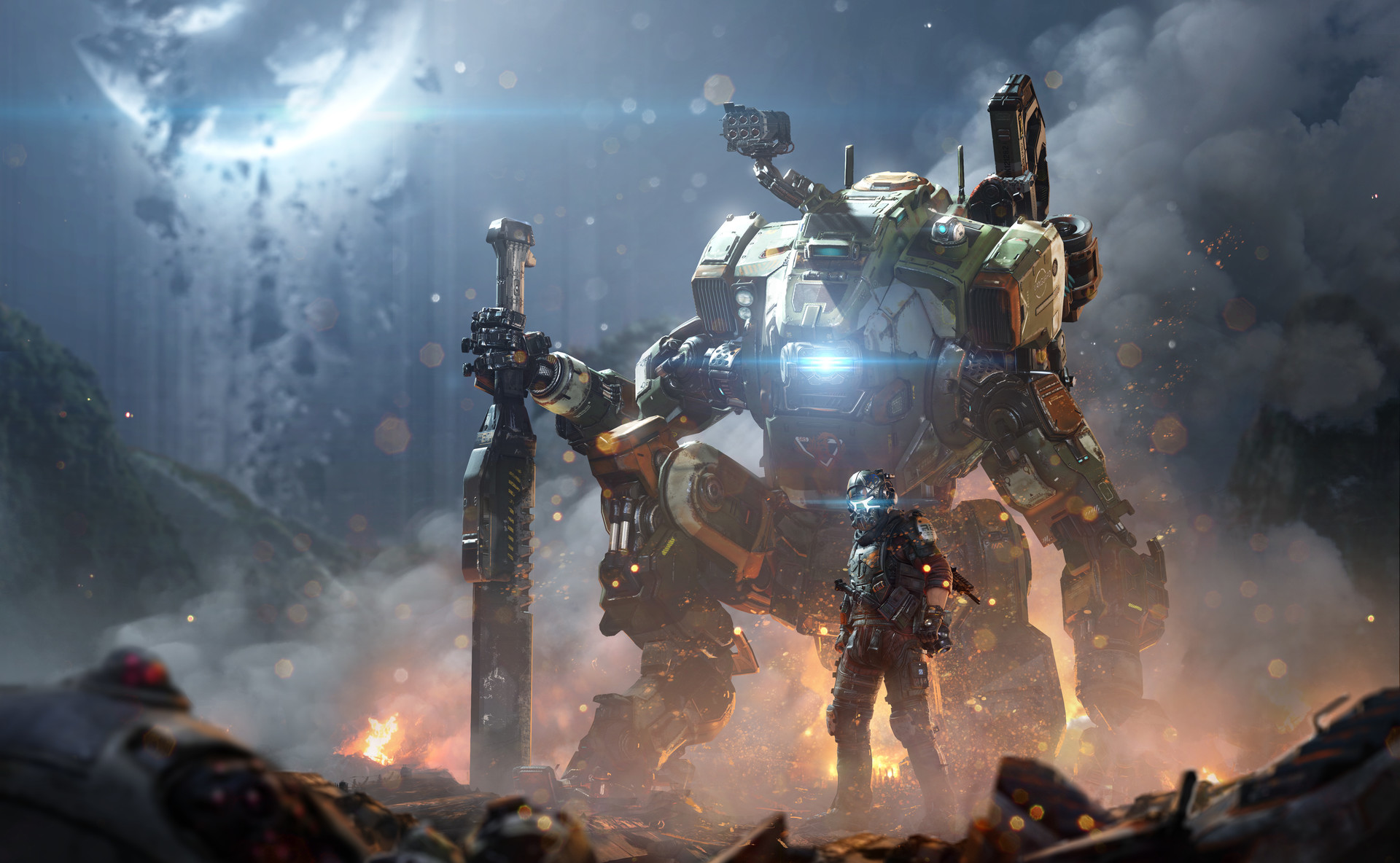 Titanfall 2 Concept Art Tu Bui 148 on concept book