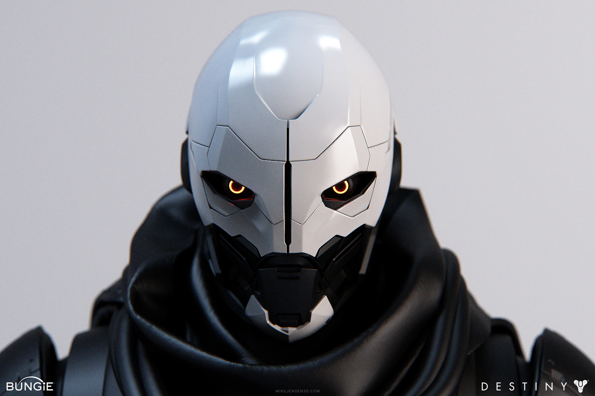 Destiny Character Artwork by Mike Jensen