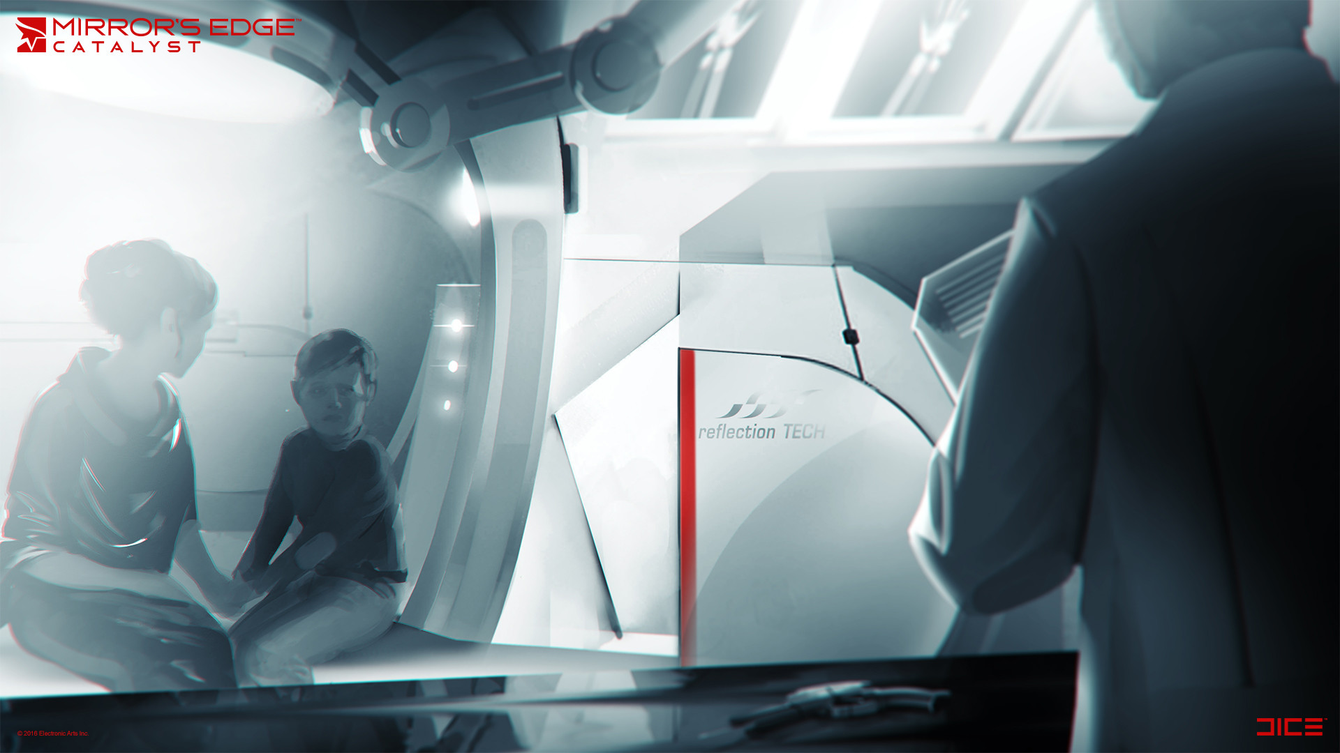 Mirror's Edge: Catalyst Concept Art by Anton Grandert
