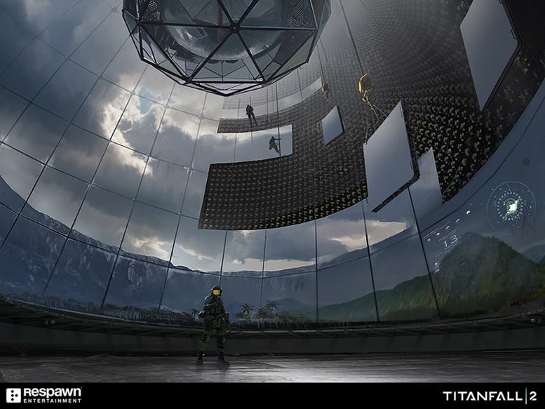 Titanfall 2 Concept Art by Jung Park