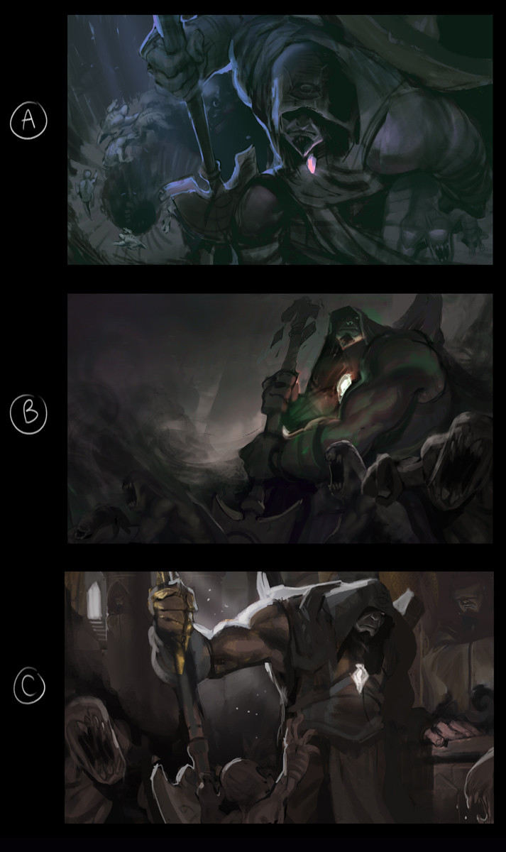 Victor Maury, League of Legends Concept Art