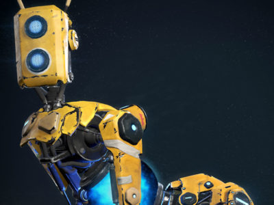 ReCore Character Models by Dan Doherty