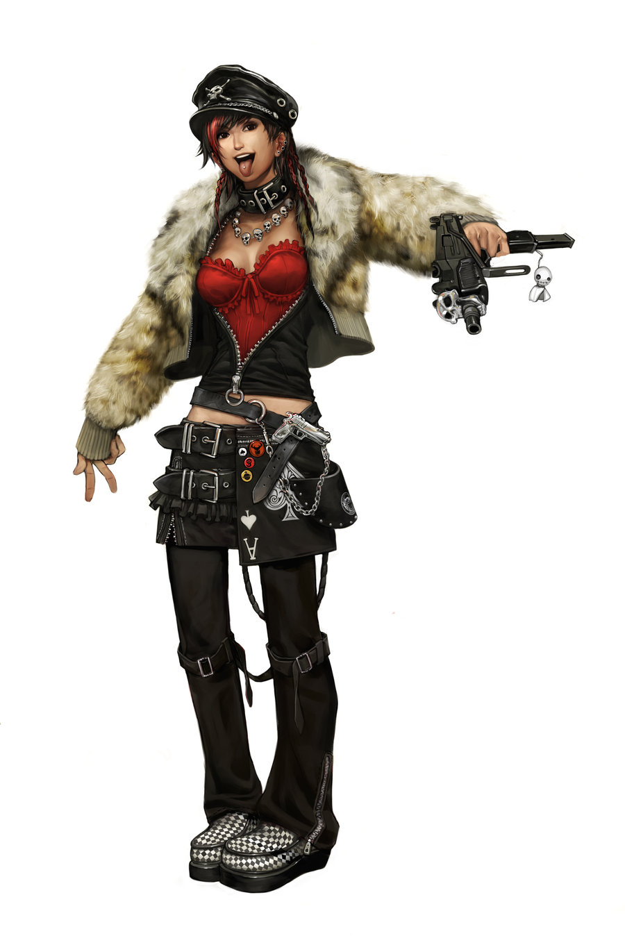 All Points Bulletin Concept Art by Arnold Tsang