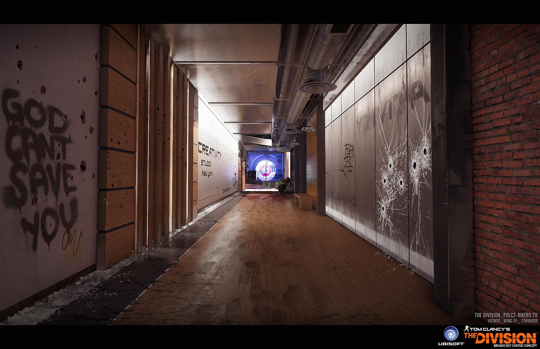 Geoffrey Bire - The Division Concept Art