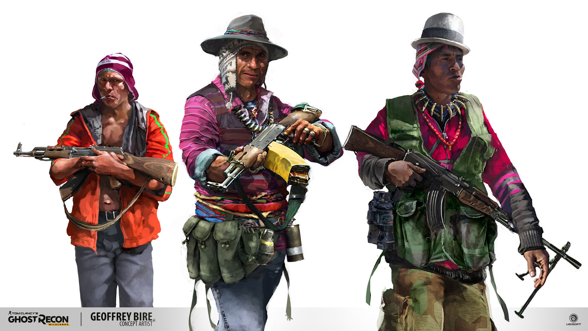 Ghost Recon Wildlands - Rebel Faction Art