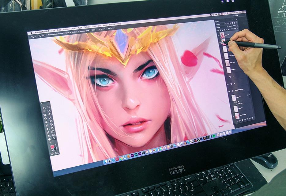 Zelda by Rossdraws
