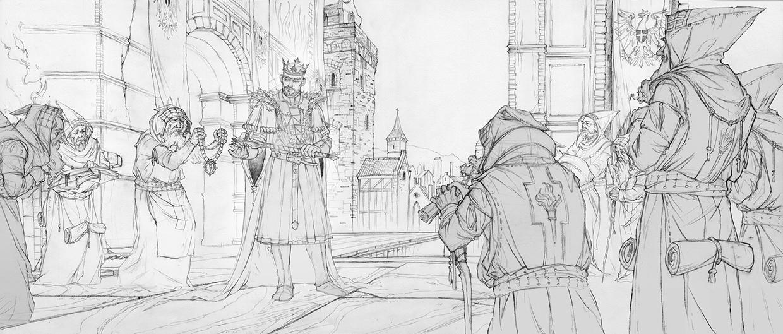 Witcher 3 Art by Marcin Karolewski | #76 - Escape The Level